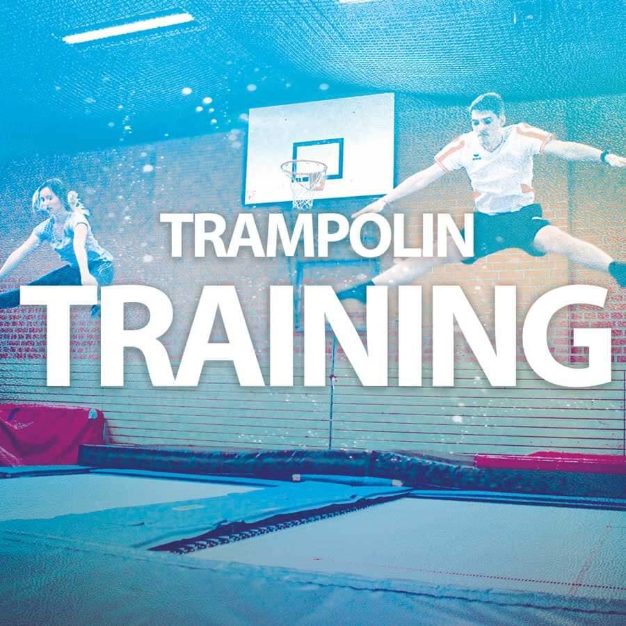 Trampolin-Training