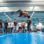 Freestyle Salto auf AirTrack
